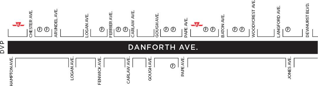 Bloor Danforth Subway Map.Directions Greektown Toronto